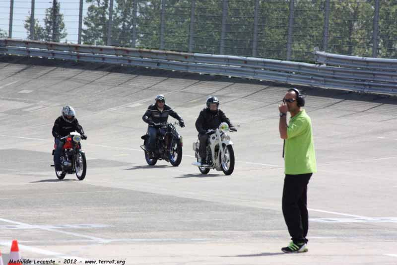 20 ans TerroT Club - Journée Motos Anciennes à Montlhéry 2012